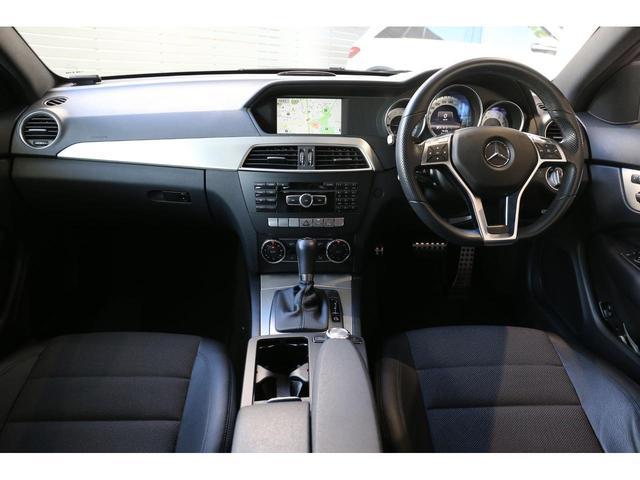 C180 ブルーエフィシェンシー クーペ AMGスポーツP 18インチAW 電動シート パドルシフト スポーツサスペンション バックカメラ LED レインセンサー クルーズコントロール PTS ゴー 認定中古車(5枚目)