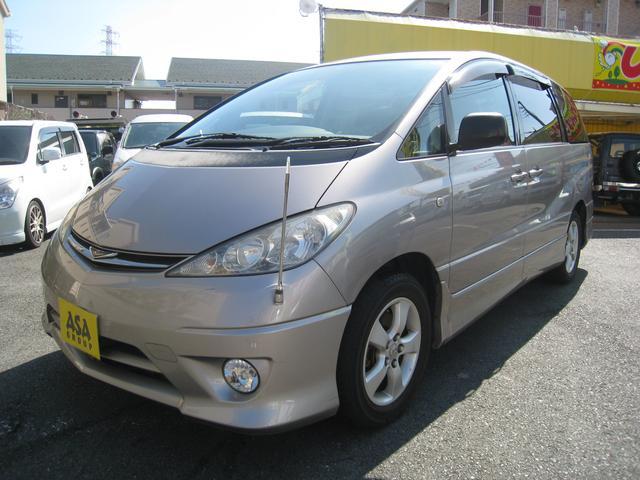 トヨタ エスティマL アエラス タイミングチェーン ETC HID