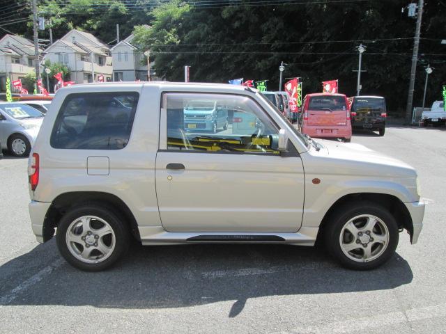 三菱 パジェロミニ R キーレス ETC 背面タイヤ