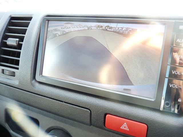 トヨタ ハイエースバン デラックス GLパッケージ1.25t 純正SDナビ ETC