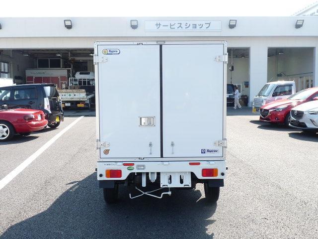 マツダ スクラムトラック 東プレ製冷蔵冷凍車 -5度中温設定 4WD MT