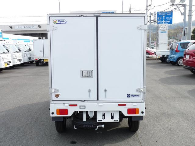 スズキ キャリイトラック 東プレ製・冷蔵冷凍車・中温・2WD・AT・キーレス・PW