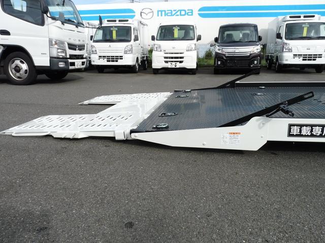 三菱ふそう キャンター 極東製3.3t積載車・フラトップゼロ