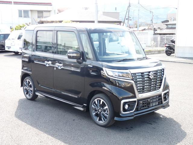 「スズキ」「スペーシアカスタム」「コンパクトカー」「神奈川県」の中古車3