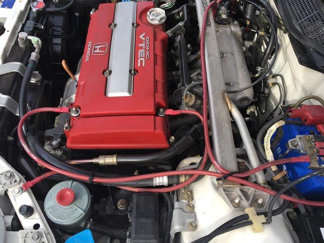 ホンダ シビック タイプR X  ボルクレーシングTE37 15インチ