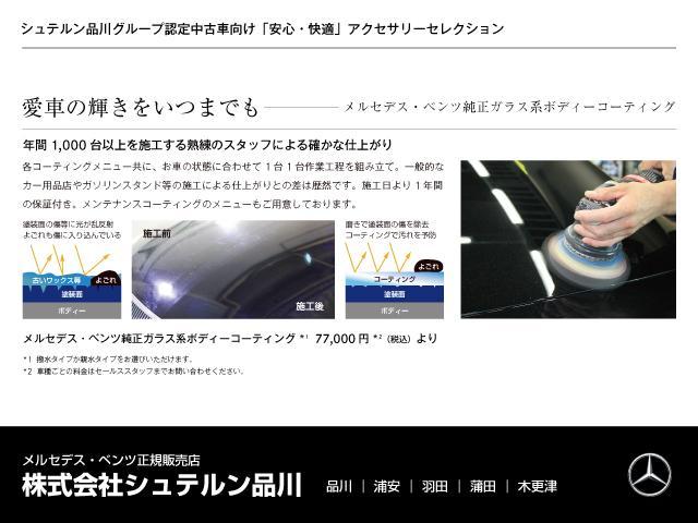 SL550 マジックスカイ ベージュレザー(47枚目)