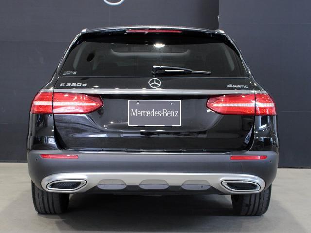 E220d 4マチック オールテレイン MB認定2年保証 エクスクルーシブPKG 黒本革シート(8枚目)