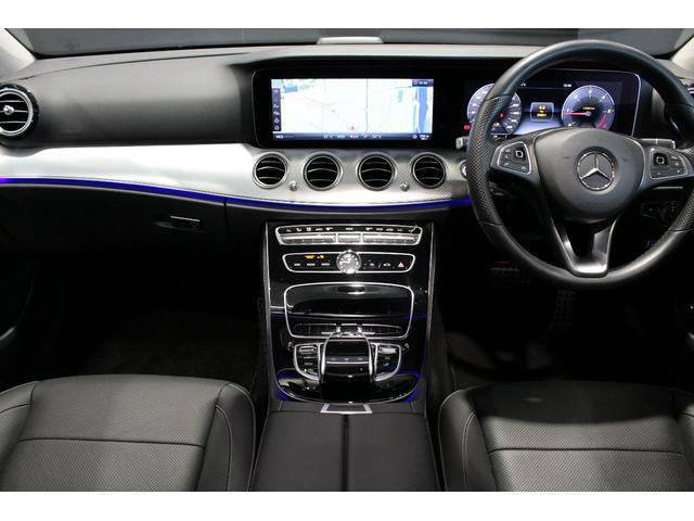 E220d 4マチック オールテレイン MB認定2年保証 エクスクルーシブPKG 黒本革シート(10枚目)