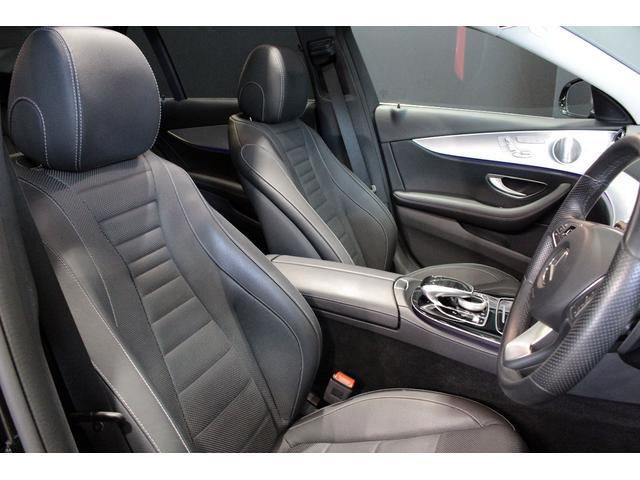 E220d 4マチック オールテレイン MB認定2年保証 エクスクルーシブPKG 黒本革シート(11枚目)