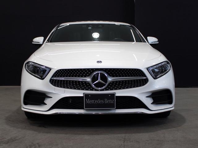 CLS450 4マチック スポーツ MB認定2年保証 エクスクルーシブPKG ガラス・スライディングルーフ ダイヤモンドホワイト 黒本革シート(5枚目)