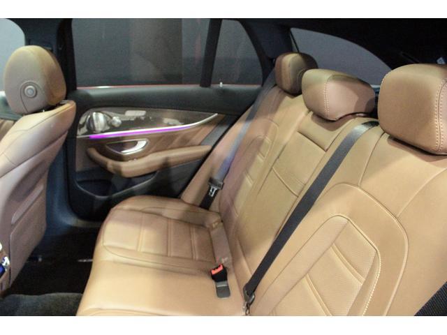 E63 S 4マチック+ ステーションワゴン MB認定2年保証 エクスクルーシブPKG ヒヤシンスレッド ナッツブラウン本革シート(12枚目)