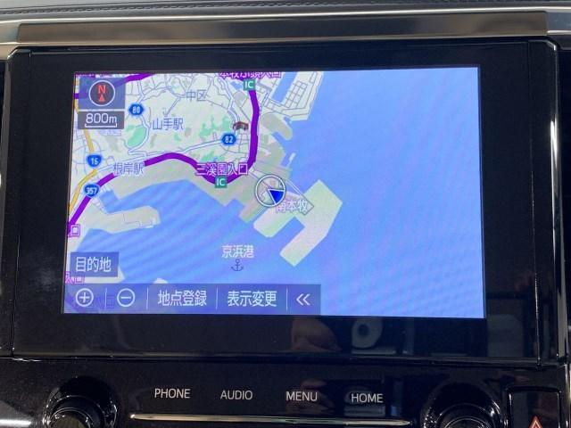 2.5X 4WD ディスプレイオーディオ エントリーナビキット CD/DVDプレイヤー バックカメラ フルセグTV ETC2.0 被害軽減ブレーキ インテリジェントクリアランスソナー 車線逸脱警報 純正アルミ(6枚目)