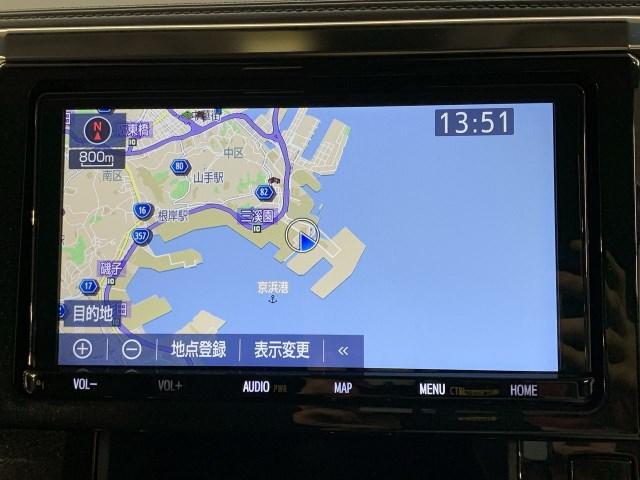 2.5S TC9インチナビ フルセグTV DVD再生機能 バックカメラ 被害軽減ブレーキ アクセル踏み間違い防止 車線逸脱警報 オートマチックハイビーム レーダークルーズコントロール ドラレコ AC電源 ETC(6枚目)