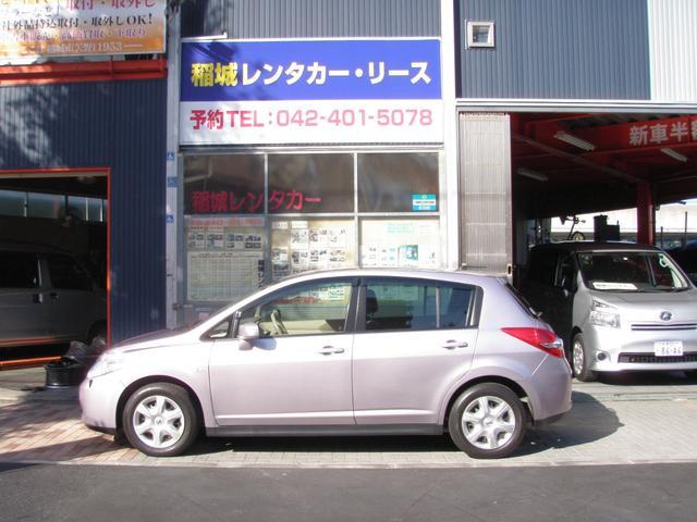 「日産」「ティーダ」「コンパクトカー」「東京都」の中古車4