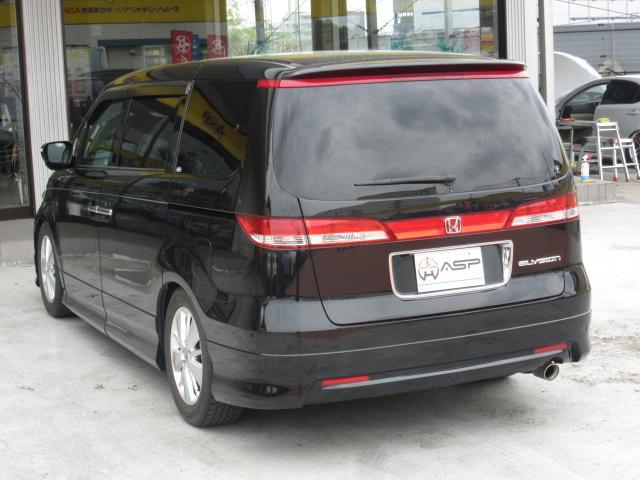 ホンダ エリシオン Gエアロ 両側自動ドア 純正HDD TEIN車高調 20AW