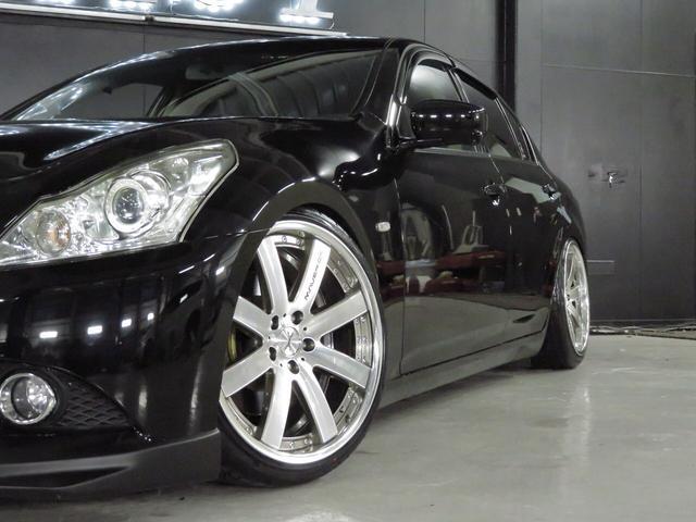 250GTワンオーナ新品車高調weds19AW新品タイヤ(5枚目)