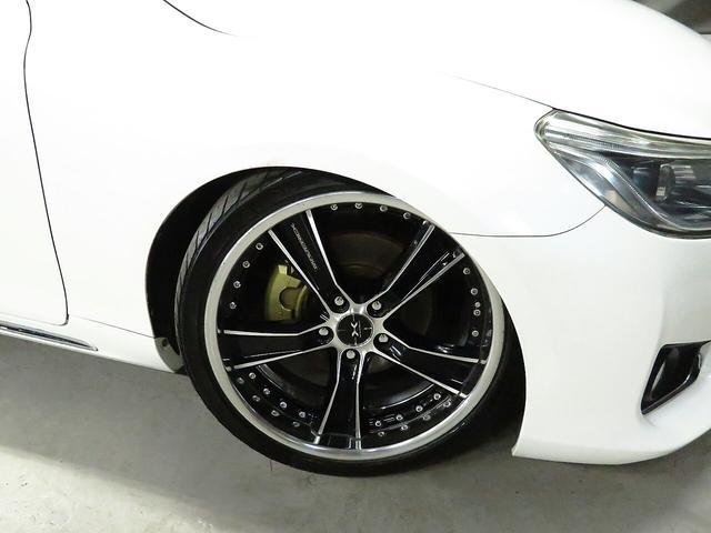 250G カロッツェリアナビ HKS車高調 weds19インチAW G,sエアロ 柿本マフラー HIDライト ウィンカーミラー ミュージックサーバー Bluetooth接続 スマートキー(33枚目)