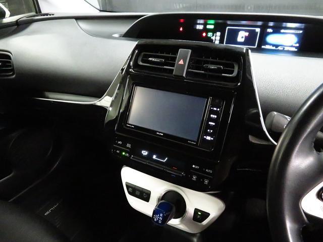 S 純正SDナビ 社外19インチAW ローダウン エアロパーツデイライト付 黒革調シートカバー LEDライト Bluetooth接続 地デジTV バックカメラ スマートキー(30枚目)