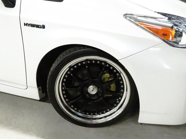 S 後期型 ケンウッドSDナビ SSR18インチAW フルタップ車高調 US仕様ヘッドライト/テールレンズ 黒革調シートカバー ウィンカーミラー Bluetooth接続 地デジTV Bカメラ スマートキー(34枚目)