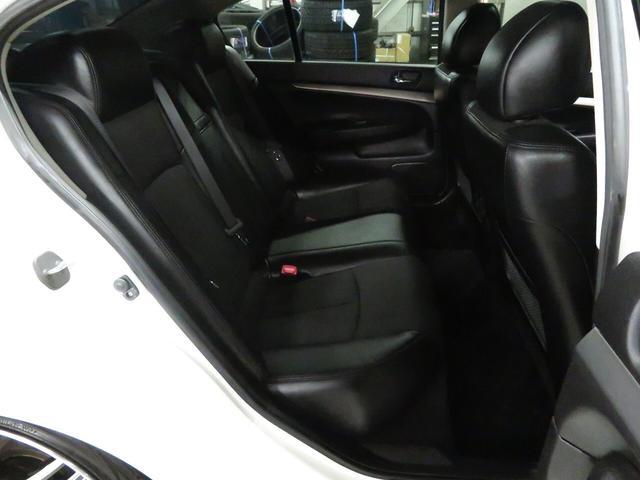 250GT タイプS 後期型 サンルーフ 純正メーカーナビ ブラックハーフレザー WORKデュランダル19AW 新品フルタップ車高調 ミュージックサーバー 地デジTV パドルシフト サイド/バックカメラ(26枚目)