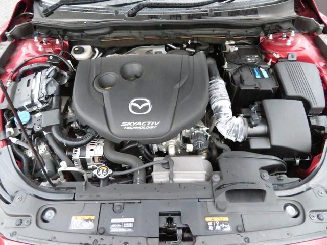 XD Lパッケージ i-ACTIVSENSE ワンオーナー車 純正ナビ 黒革シートヒータ RAYS19インチAW 新品BLITZ車高調 フロントスポイラー トランクスポイラー 地デジTV バックカメラ スマートキー(38枚目)