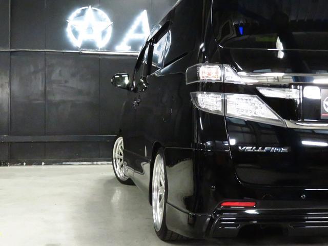 2.4Z 後期型 WORKシュヴァート20AW フルタップ車高調 エムズスピードエアロ カロッツェリアSDナビ 両側自動スライドドア アルパインフリップダウン 地デジフルセグ バックカメラ スマートキー(40枚目)