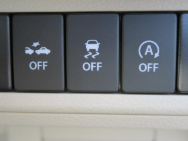 車両走行安定補助システムのESP装備。横滑りなどを抑え、安全走行に貢献します。