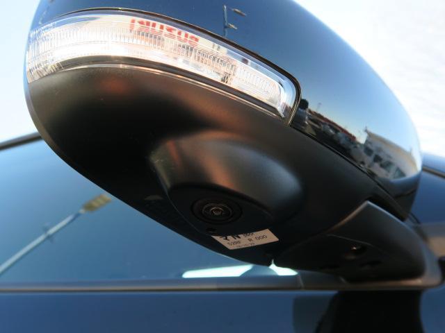 サイドカメラ。全方位モニター対応のナビゲーションを装備すれば、車庫入れがしやすくなりますよ!