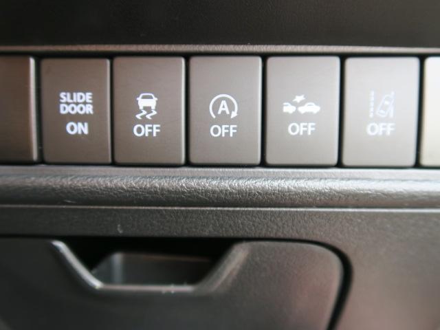 運転席側スイッチパネルです。