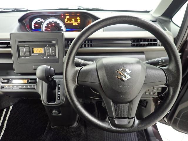 このハンドルを握った時に、車を所有している優越感を味わえますね