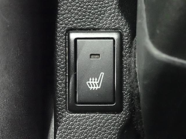 運転席にはシートヒーターが装備されています。