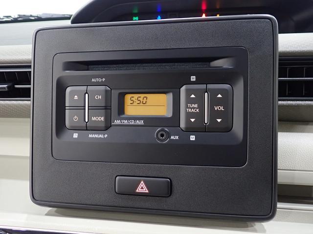 メーカーオプションのラジオ付CDプレイヤーが装着されています。ナビゲーションの装着もご相談下さい。