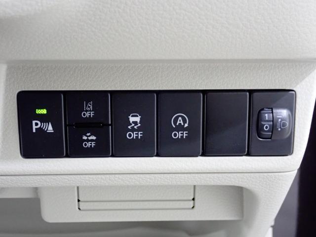 運転席各種スイッチです。