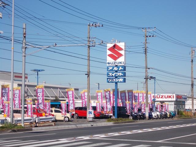 当店は神奈川県下スズキディーラー最大級規模の中古車専売店です。常時70台以上の厳選したスズキ中古車をご用意しております。アナタのお気に入りの1台がきっと見つかるはずです!!