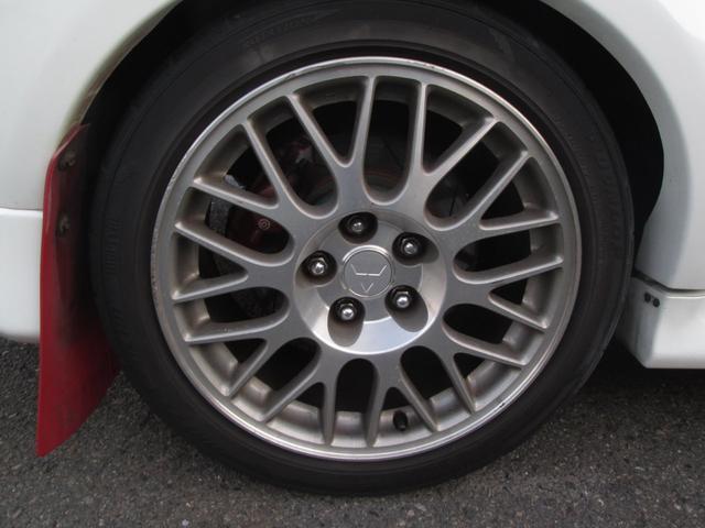 三菱 ランサー GSR エボV TEIN車高調 カーボンボンネット