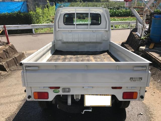 スズキ キャリイトラック KC 4WD 三方開