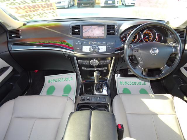 日産 フーガ 350GTスタイリッシュシルバーレザー RISEカスタム