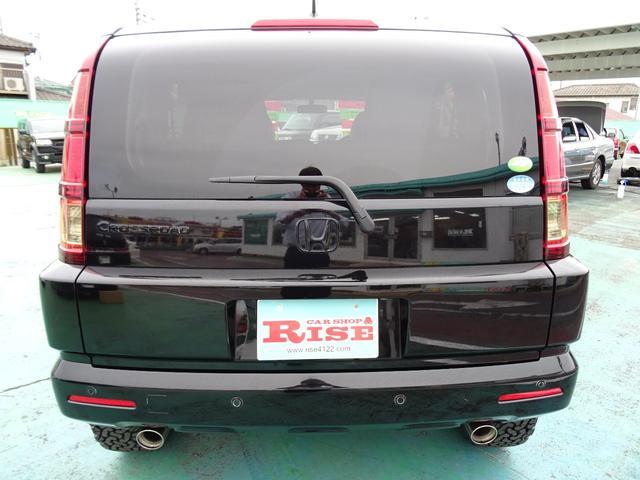 ホンダ クロスロード HIDエディションリフトアップ社外HDDナビ禁煙車コーナーS