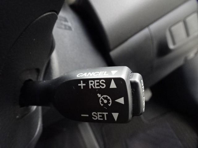 クルーズコントロール装着車です。