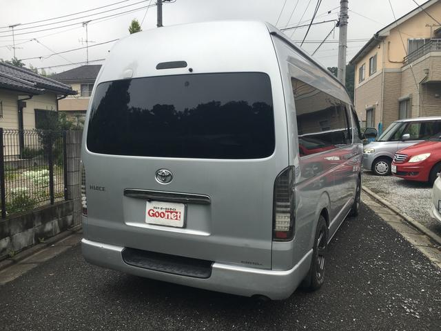 トヨタ ハイエースバン DX トランポ仕様 メモリーナビ