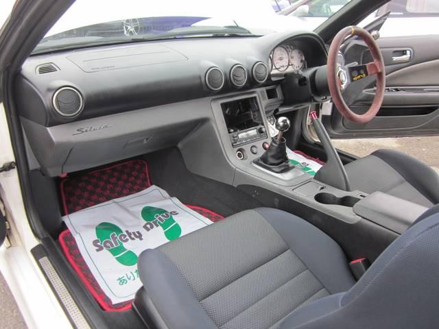 日産 シルビア スペックR 改 外フルエアロ Wフェンダー