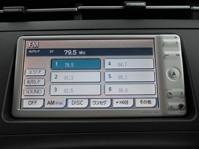 トヨタ プリウス S 1オーナー 純正SDナビ バックカメラ ビルドインETC