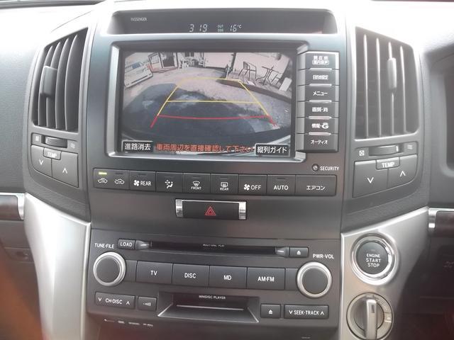 トヨタ ランドクルーザー AX 純正HDDナビ 中期仕様 エアロ 24インチAW