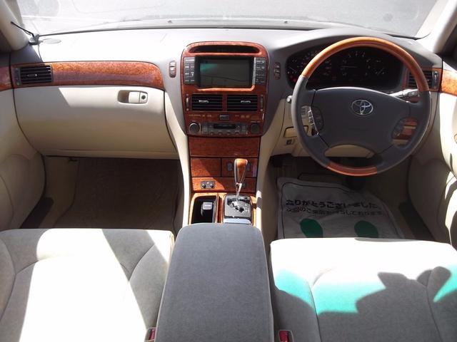 トヨタ セルシオ C仕様 サンルーフ 20インチAW VLENEエアロ