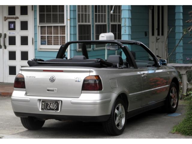 フォルクスワーゲン VW ゴルフカブリオレ USモデル CABRIO 実走行CARFAX付 左ハンドル