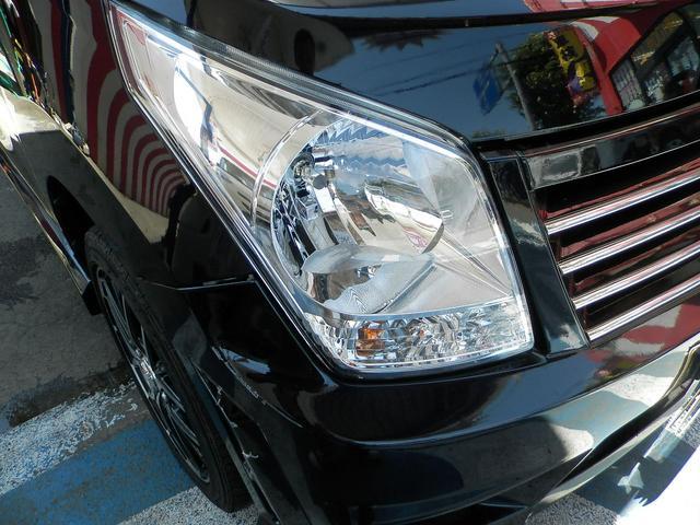 スズキ ワゴンR FXリミテッドII ギャルソンフルエアロ 社外アルミホイール