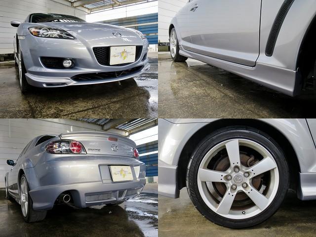 「マツダスピードM'z Tune」は、マツダスピードの上級シリーズにあたる特別仕様車です!専用チューニングや専用アブソーバー、専用フルエアロなど特別装備しています。