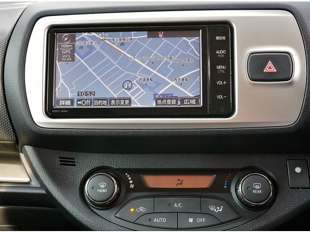 トヨタ ヴィッツ RS スマートストップパッケージ ナビBカメラETC1オーナ