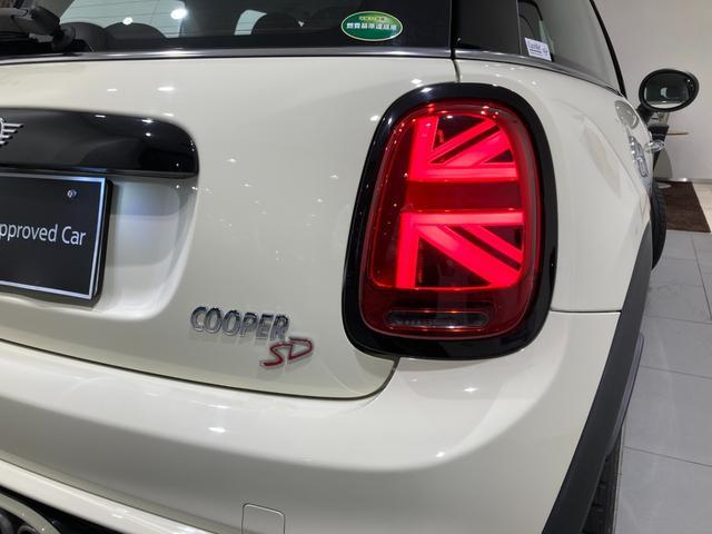 クーパーSD 車検整備付 弊社下取車 バックカメラ 前後センサー 禁煙車 前車追従機能 17インチAW ブラックホイール 衝突軽減ブレーキ Bluetooth/USB LEDヘッドライト ブラックライトリング(48枚目)