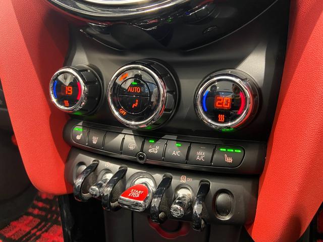 クーパーS コンバーチブル ハーフレザーシート 禁煙車 ブラックジャックルーフ LEDヘッドライト シートヒーター バックカメラ 後方センサー コンフォートアクセス アンビエントライト クルーズコントロール Blutooth(25枚目)